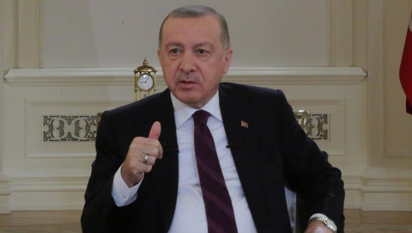 Son dakika: Cumhurbaşkanı Erdoğan'ın TRT yayınında dikkat çeken detay