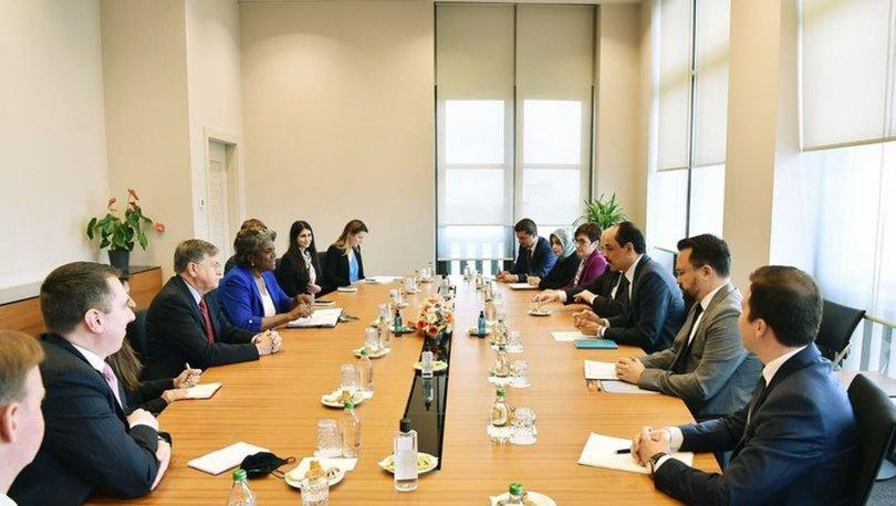 SON DAKİKA: Cumhurbaşkanlığı Sözcüsü Kalın, ABD'nin BM Daimi Temsilcisi Greenfield ile görüştü - Haberler