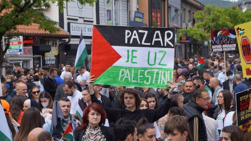 Sırbistan'ın Sancak bölgesinden Filistin'e yardım kampanyası başlatıldı