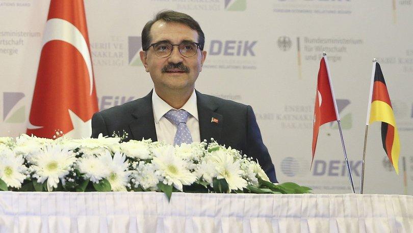 Bakan Dönmez: Alman girişimleri, Türk enerji sektörüne 25 milyar avro yatırım yapıp 15 binin üzerinde istihdam
