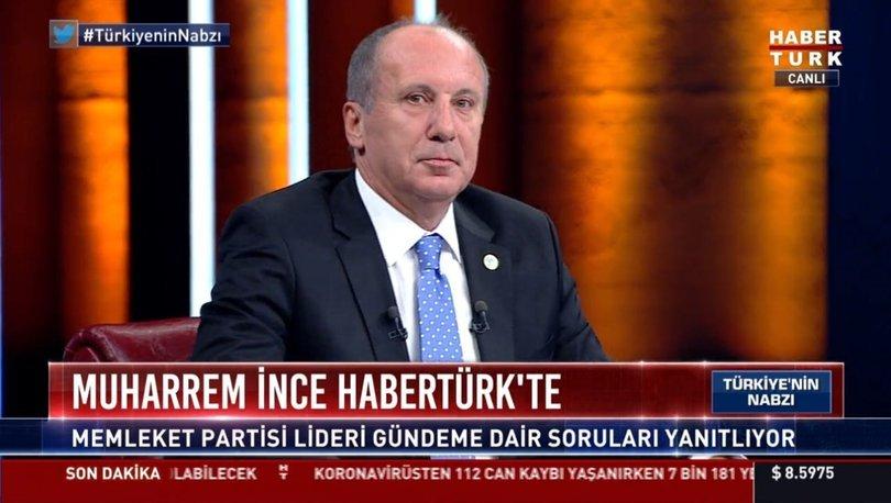 Memleket Partisi Genel Başkanı Muharrem İnce'den açıklamalar