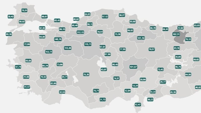 İl il risk haritası 2 Haziran! Türkiye risk haritasına göre düşük, orta, yüksek ve çok yüksek riskli iller