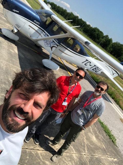 Can Nergis pilot oluyor - Magazin haberleri