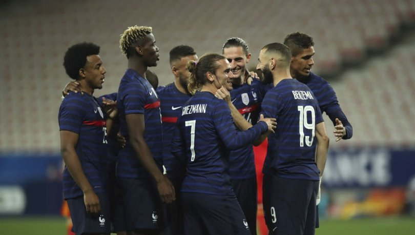 Türkiye'nin EURO 2020'deki rakibi Galler, özel maçta Fransa'ya 3 golle yenildi