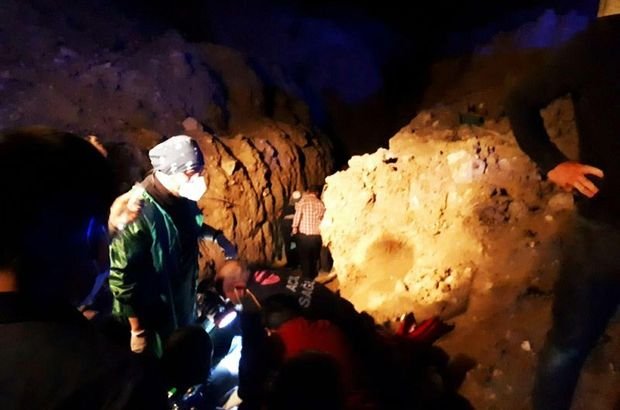 Eskişehir'de kazı faciası: 1 ölü, 1 yaralı