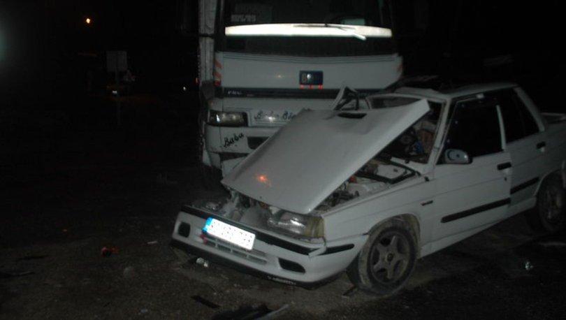 Kahramanmaraş'ta kamyon ile otomobil çarpıştı: 1 ölü, 1 yaralı