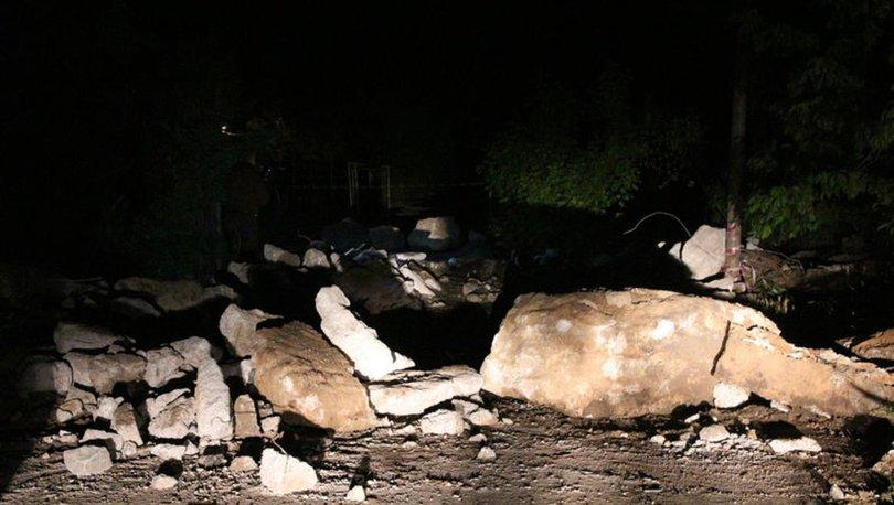 Sarıyer'de sağanak yağış Gümüşdere Köprüsü'nü yıktı