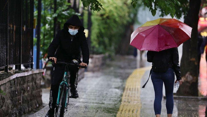 SAĞNAK! Son dakika HAVA DURUMU: Meteoroloji'de Marmara ve Karadeniz için uyarı