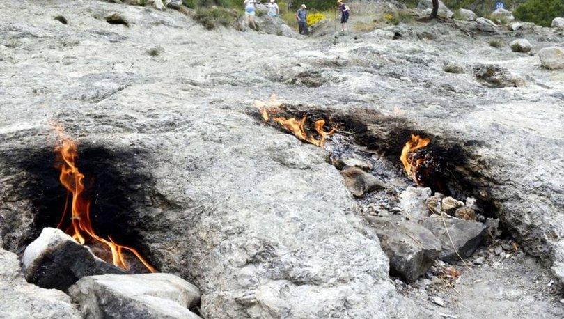 Asırlardır sönmeyen Yanartaş, kesin korunacak hassas alan ilan edildi