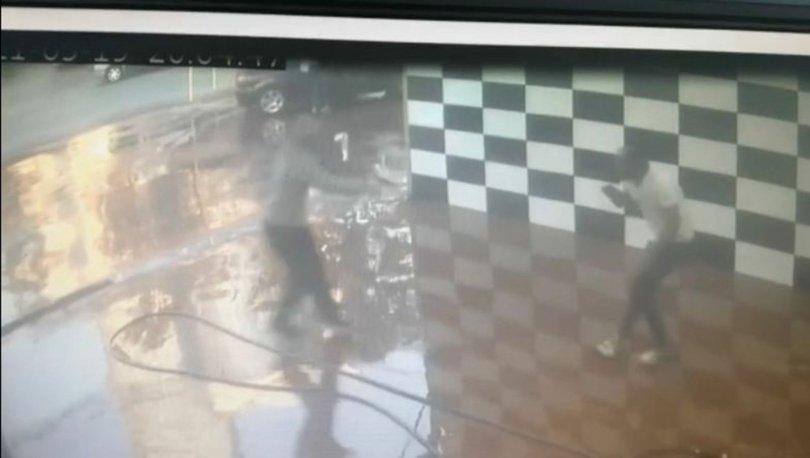 KURŞUN YAĞMUR! Son dakika: Oto yıkamacıya kurşun yağdırdı - VİDEO