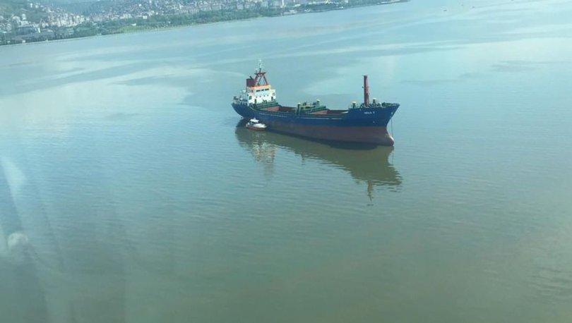 DOĞA KATİLİ! Son dakika: Körfez'e atık bırakan gemiye büyük ceza! - VİDEO HABER