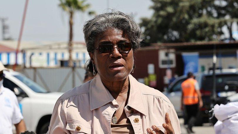 ABD Birleşmiş Milletler (BM) Daimi Temsilcisi Linda Thomas-Greenfield, Hatay'da