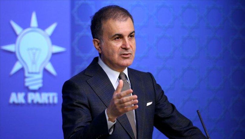 AK Parti Sözcüsü Çelik'ten sanatçılarla ilgili açıklama