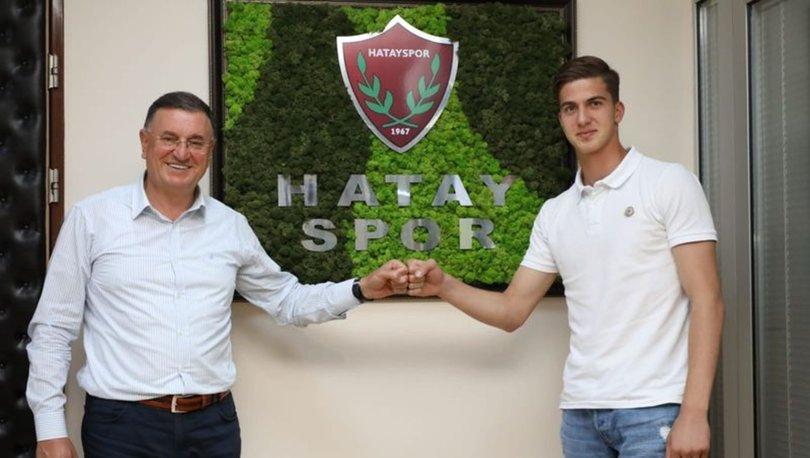 Hatayspor, 18 yaşındaki forvet Bertuğ Özgür Yıldırım'ı transfer etti