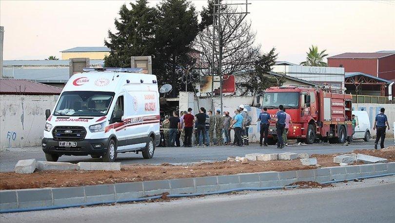 Son dakika... Hatay'da askeri TIR çırçır fabrikasının duvarına çarptı: 2 şehit