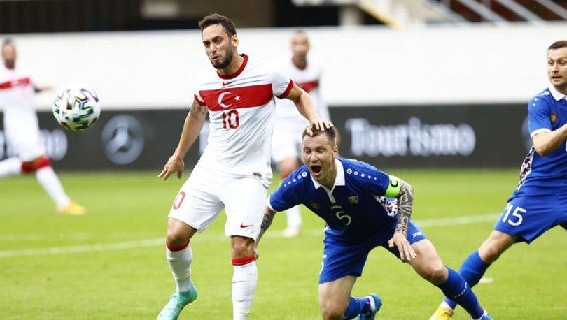 Hakan Çalhanoğlu: İtalya'ya galibiyet almaya gideceğiz