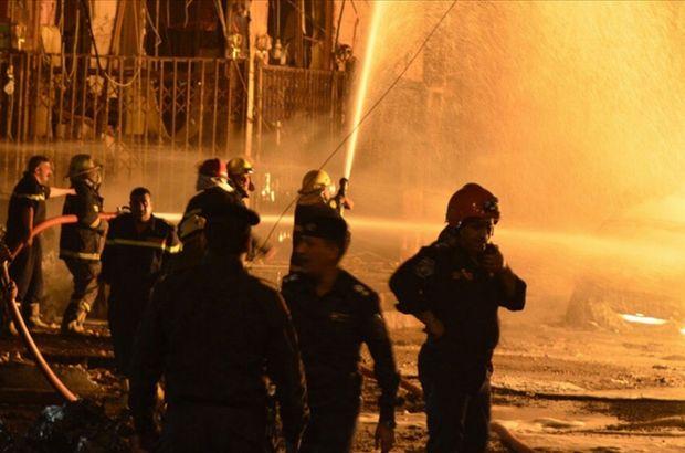 Bağdat'ta patlama: Ölüler var