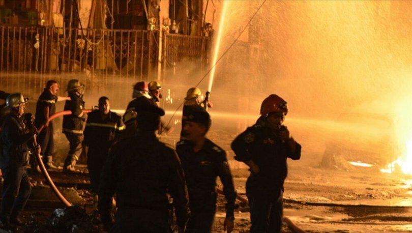 Bağdat'ın Kazımiye semtinde patlama meydana geldi