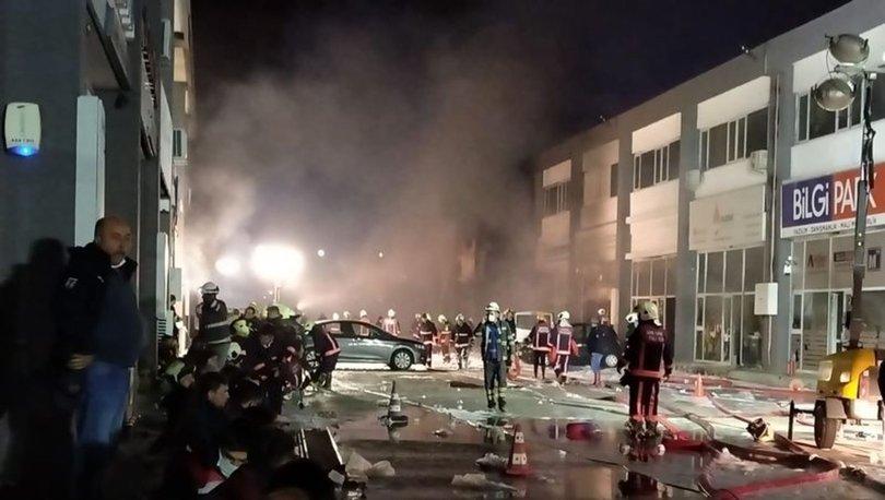 Son dakika... Ankara'da kimyasal madde üretimi yapan fabrikada yangın