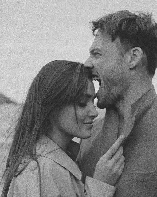 Hande Erçel'den Kerem Bürsin'e: Sana sahip olduğum için çok şanslıyım! Romantik kutlama - Magazin haberleri