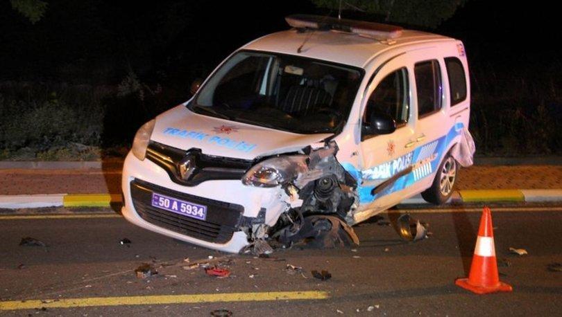 Dur ihtarına uymadı, polisleri yaraladı! Nevşehir haberleri
