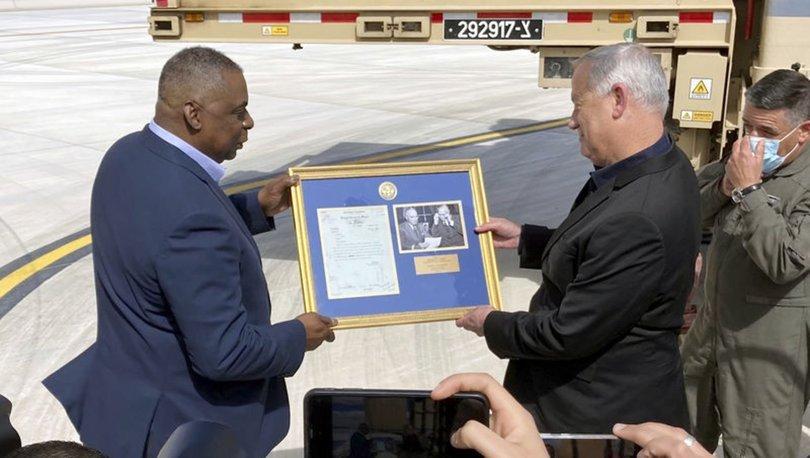 SON DAKİKA: ABD Savunma Bakanı Austin ile İsrail Savunma Bakanı Gantz arasında Demir Kubbe görüşmesi!
