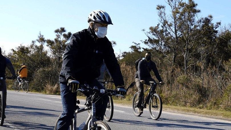 First Lady'nin en sevdiği yerde Biden çifti bisiklet turuna çıktı