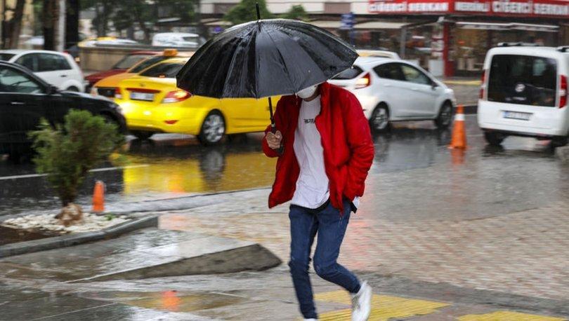 DİKKAT! Meteoroloji'den son dakika Karadeniz ve Akdeniz için yağmur uyarısı - Hava Durumu