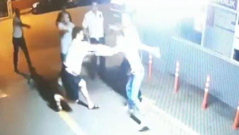CANİ! Son dakika: Polise bı.aklı saldırı aneban kamerada! - VİDEO HABER