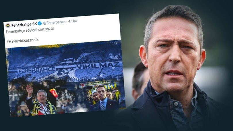 Son dakika haberi | Ali Koç: Başımız dik, alnımız açık