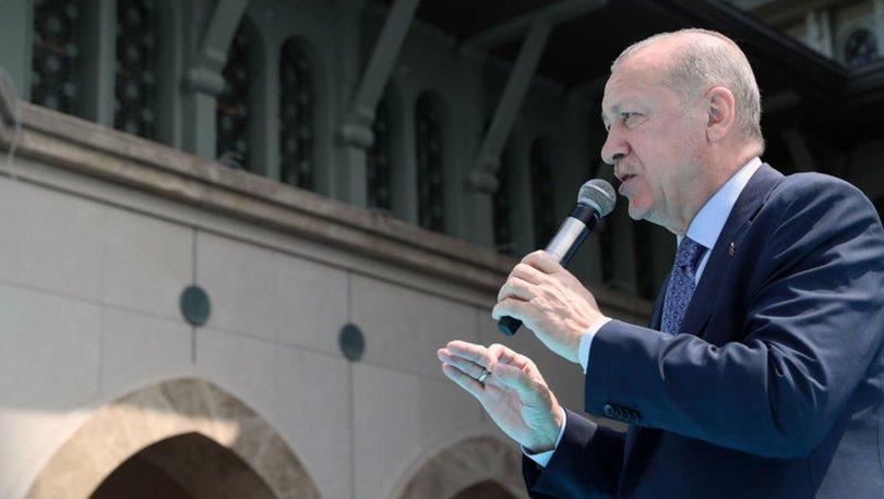 Son dakika: Cumhurbaşkanı Erdoğan: Camilerimiz, inancımız üzerinden operasyon çekmeye çalıştılar