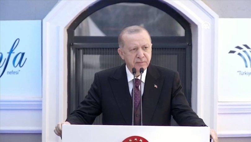Cumhurbaşkanı Erdoğan: Kuraklığın oluştuğu bölgelerde çiftçilerimizin borçlarını erteliyoruz
