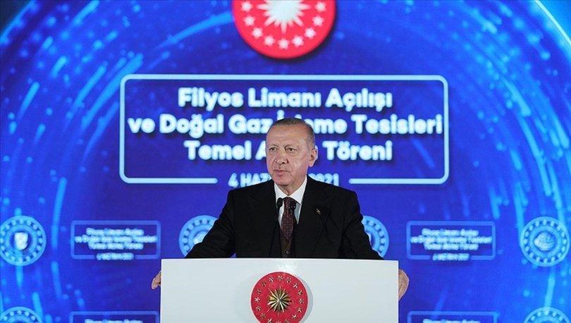 Son dakika... Cumhurbaşkanı Erdoğan müjdeyi açıkladı: 135 milyar metreküplük doğalgaz... - Haberler