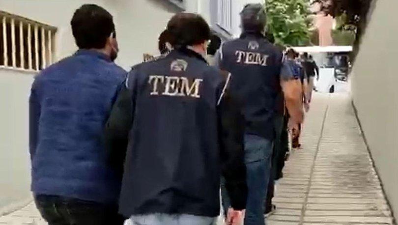 Balıkesir merkezli FETÖ operasyonunda yakalanan 14 zanlı tutuklandı