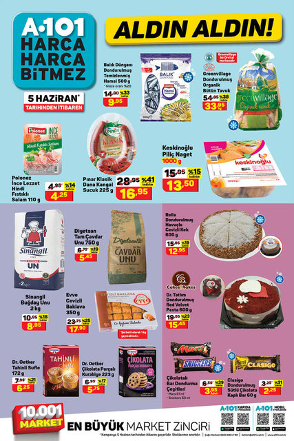 A101 BİM aktüel ürünler kataloğu! A101 BİM 8-10 Haziran aktüel kataloğu! İşte tüm liste