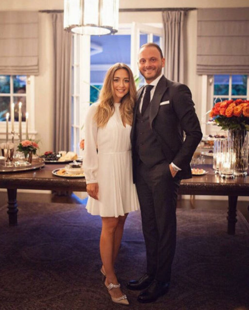 Mina Başaran'ın eski nişanlısı Murat Gezer ile Nazlı Çarmıklı evlendi - Son dakika magazin haberleri