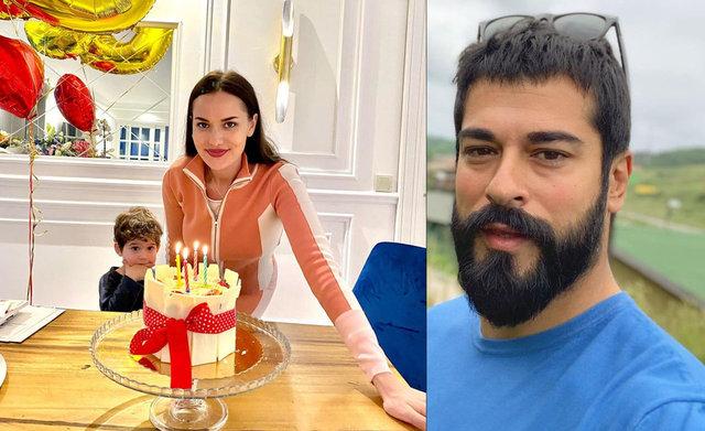 Burak Özçivit'ten 'Fahriye Evcen' ve 'Karan' paylaşımı: Kuzum ve pasta kurdum - Magazin haberleri