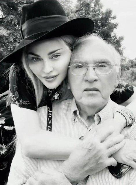Madonna: Babam bana hayat yolunu kazanmanın önemini öğretti - Magazin haberleri