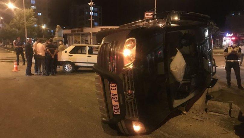 Adıyaman'da iki otomobil çarpıştı: 6 yaralı