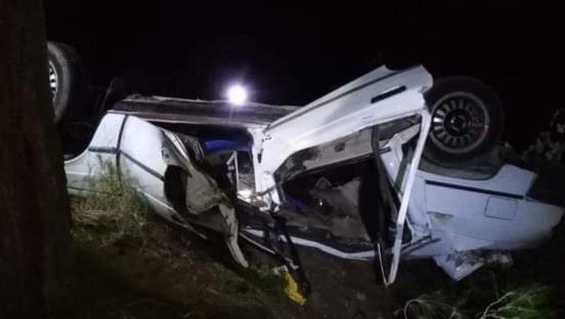 Adana'da trafik kazası geçiren evli çifti ölüm ayırdı