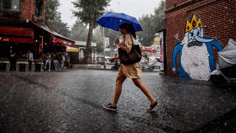 YAĞIŞ! Son dakika: Meteoroloji'den önemli uyarı! 5 bölgede sağanak! 5 Haziran hava durumu
