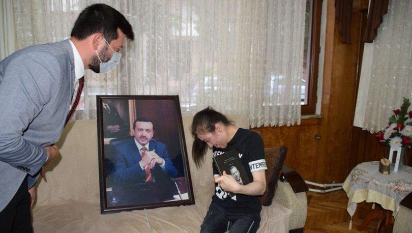 ÖNEMLİ MESAJ! Son dakika: Cumhurbaşkanı Erdoğan'dan serebral palsi hastası Merve'ye videolu mesaj!