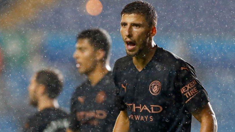Premier Lig'de yılın futbolcusu Ruben Dias