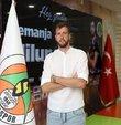 Aytemiz Alanyaspor, transfer çalışmaları kapsamında Sırp stoper Nemanja Milunovic ile 2 yıllık sözleşme imzaladı