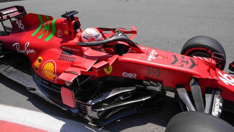 F1 Azerbaycan Grand Prix'sinde pole pozisyonu Leclerc'in