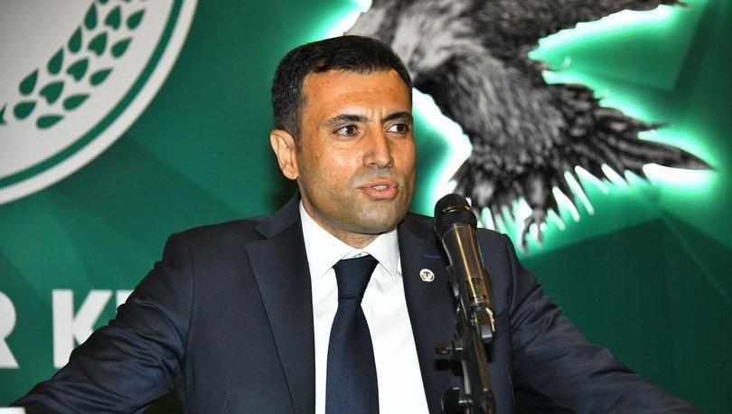 Konyaspor Kulübü'nün yeni başkanı Fatih Özgökçen oldu