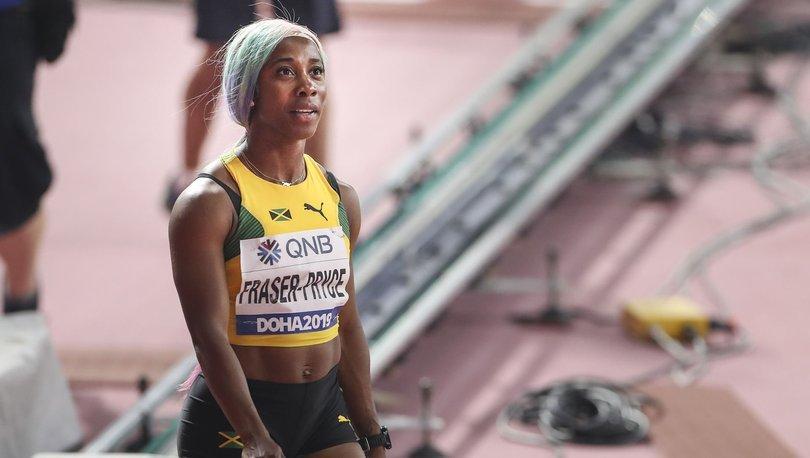 Jamaikalı atlet Fraser-Pryce, 10.63 saniyelik zamanıyla tarihin en hızlı 2. kadını oldu