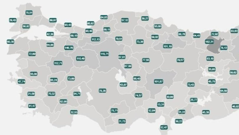 İl il risk haritası 5 Haziran! Türkiye risk haritasına göre düşük, orta, yüksek ve çok yüksek riskli iller