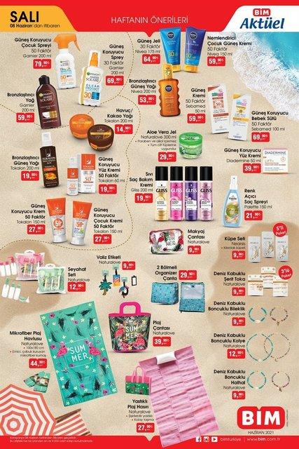 BİM aktüel ürünler ürünler kataloğu! Bu hafta BİM'de indirimli neler var? BİM 8-11 Haziran 2021 kataloğu