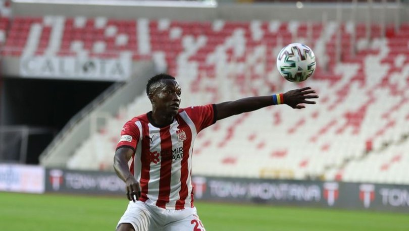 Sivasspor'da Casimir Ninga takımdan ayrılıyor